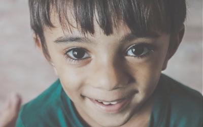 Große Augen – Zeichen von Emotionalität und Phantasie