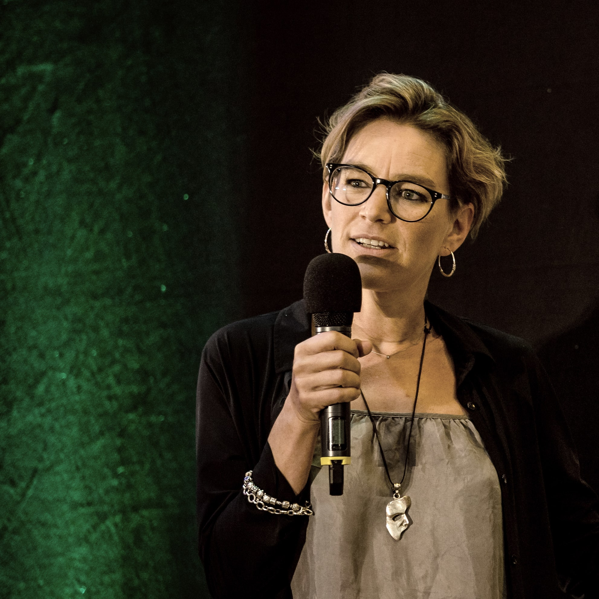 Gesichtleserin Anne Fierhauser Keynotespeakerin