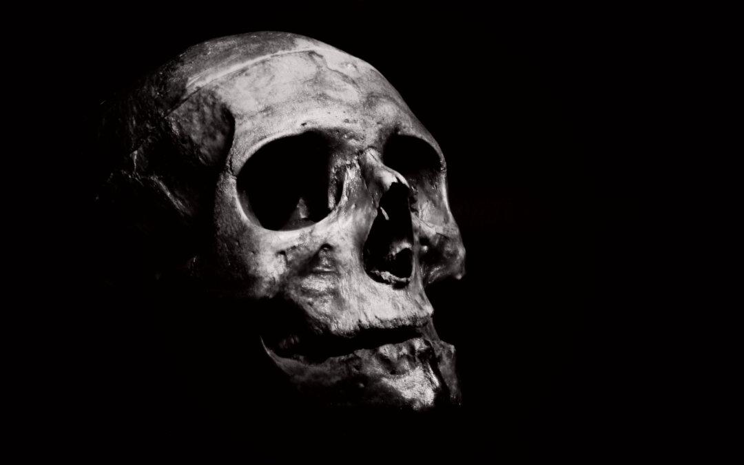 Gesichtlesen-Todeszeichen