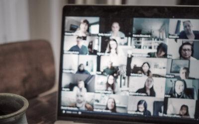 Virtuelles Teambuilding und Gesichtlesen